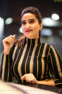 Manjush at Savaari Pre-Release Event