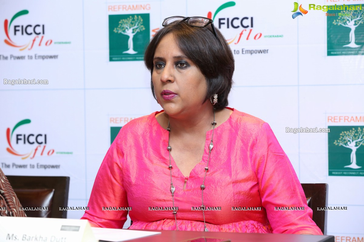FICCI FLO Interactive Session With Barkha Dutt at Park Hyatt, Hyderabad