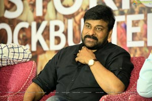 Chiraneevi at Sye Raa Sucess Meet