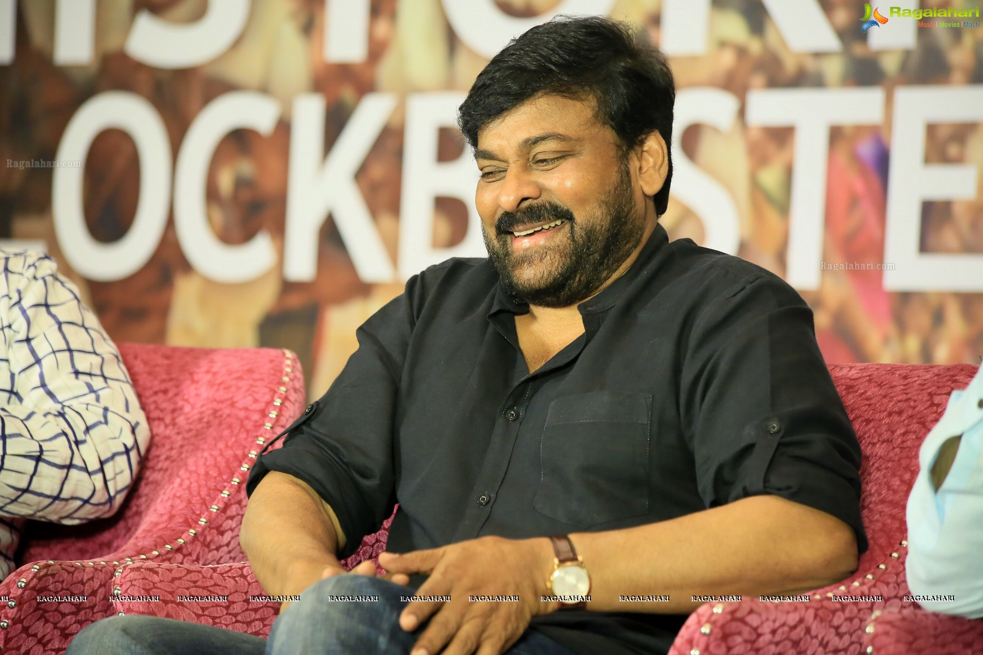 Chiranjeevi at Sye Raa Sucess Meet