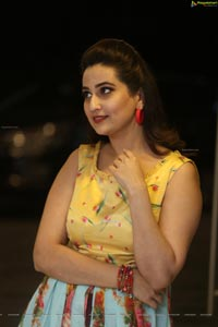 Manjusha at RDX Love Pre-Release Event