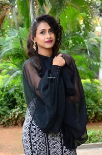 Nitya Naresh at Operation Gold Fish Trailer Launch