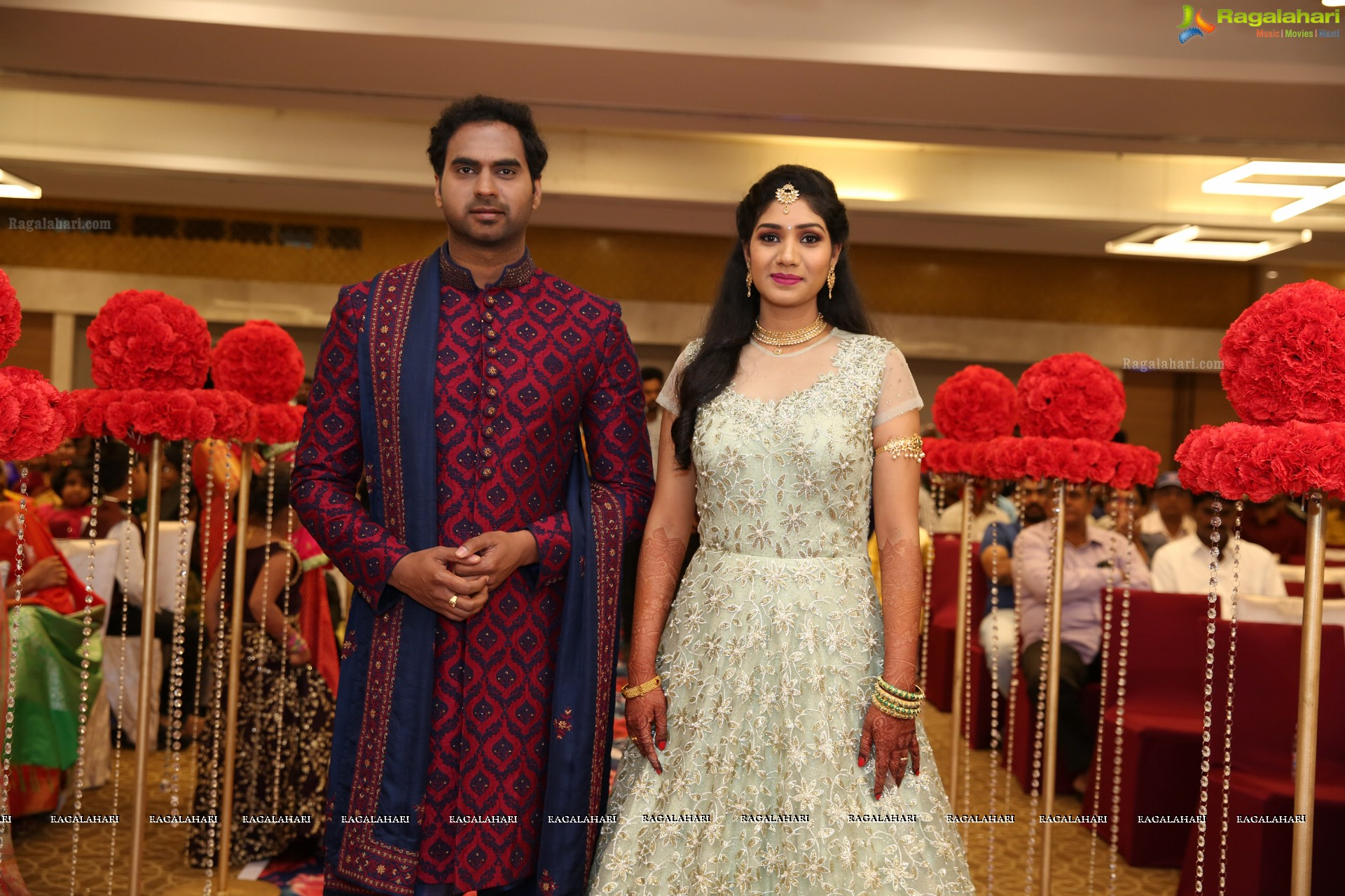 Sravan Varma and Hima Sruthi's Wedding Reception